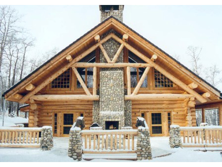 Legno vivere for Case di tronchi di blocchi di legno