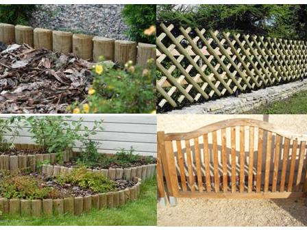 Legno vivere for Recinzioni giardino legno